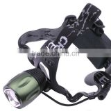 XM-L T6 LED 3-Mode 800LM High Power Zoom Focus Head Lamp