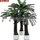 Artificial plant cycas tree