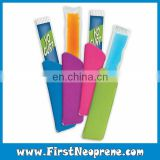 Freezer Pop Wrap Keep Cold Neoprene Ice Popsicle Sleeve