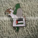 Low price and fast delivery Palestinian Intifada Fighter Slingshot Palestine Flag Pin ---- DH 17088