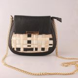 Metal Chain Small Shoulder Bag