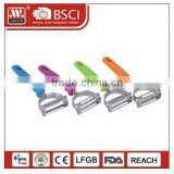 Promotional food grade PP handle kitchen tool vegetable carrot peeler