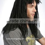 Long afro dreadlock braids hair cosplay wigs for black men