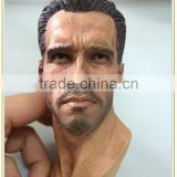 Amazing customized 1 6 scale arnold schwarzenegger head model