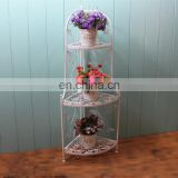 3 tier folding flower rack corner stand rack