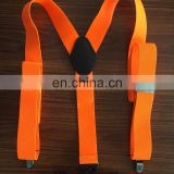 2017 men's fashion suspenders 4 clips suspenders