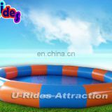 Hula-Hoop Shape Inflatable Swimming Pool For Sale