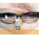 labels for Sunglass and Jewelry