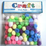 Easter Day Gift Decoration Assorted Color Craft pompoms