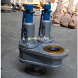 Double port Full lift safety valve