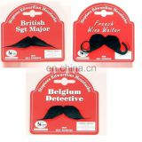 Various shapes fake beard funny artificial mustache MH2123