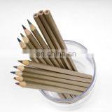 12 Colors Matte Metallic Wooden Colored Pencil Set