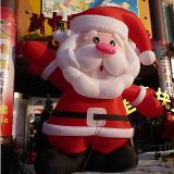 Hot sale giant inflatable Santa Claus, inflatable Christmas old man for Christmas decoration