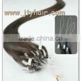 hot fashion!! Black Silky Straight, Soft & Tangle Free, Russian micro ring loop hair extensions