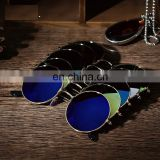Men Women Retro Vintage Round Mirrored Sunglasses Eyewear Outdoor Sports Glasses AS008