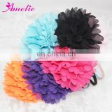 AH825 Chiffon Colorful Flower With Metal Girls Headbands