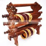 Designer Wooden Handicrafts and Bangles holders