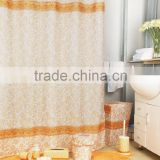 <b>Yellow</b> flower <b>shower</b> <b>curtain</b>/bath mat set/ceramic bath accessories set