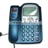 PBX Corded Telephone,Analog Phone, FSK/DTMF Caller ID Display.