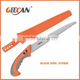 Hot selling sk5 carbon steel blade hand saws for cutting trees garden saw for wood with plastic handle