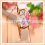 Popular fashion silicon lady watch