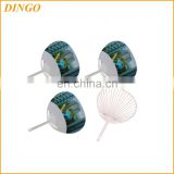 Summer Fashion Design PP Fan Portable Plastic Custom Hand Fan