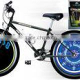 Cycling Bike Bicycle Tire Wheel Valve 16 Led Flash Light With many kinds of change