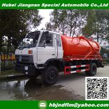 4x2 RHD/LHD 8cbm Vacuum Sewage Suction Truck supplier