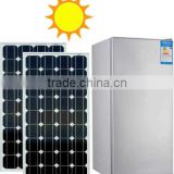 102L Integrated Solar Double-door Refrigerator with Built-in Lithium Battery