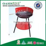 easy assembled grill oven /camping cooking ceramic barbecue oven stand knids Iron coating outdoor using BBQ Oven