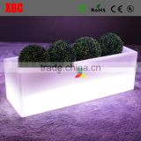 new brand led lighting up rectangular ice bucket GH202