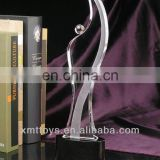 dancing crystal trophy award souvenir