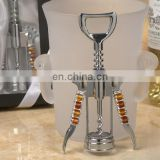 Golden Brown Glass Bead Wine Opener Favors