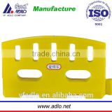 China suppliers new yellow small 1M water plastic jersey barriers