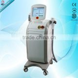 2 In 1 SHR Nd Yag Laser Laser Tattoo Naevus Of Ota Removal Removal / Nd Yag Laser Shr Hair Removal Machine Vascular Tumours Treatment