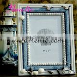 A0138 5*7 Blue Color Seabirds Beautifu Colorful Wooden Collage Photo Frame