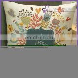 SQP026F arabic photo print plain cushion covers cotton