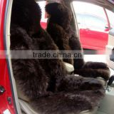 Sheepskin Car Seat Cover with 100% Australian sheepskin(factory with BSCI Certification)