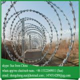 900mm diameter military concertina razor barbed wire fencing
