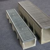 Galvanized Grate Polymer Concrete Trench Channel
