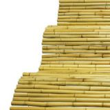Durable nature high split cheap bamboo fence for gardening for sale