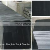 Absolute Black Granite Surface Mirror Polished Cut to Size