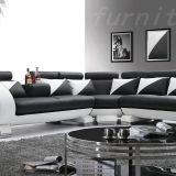 Italy Unique Genuine Leather Sofa with Coffee Table