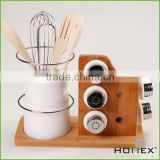 Luxurious kichen storage hold spice and cutlery/HOMEX