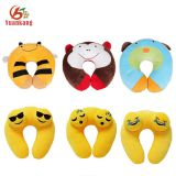 wholesale funny korean kids u shape memory foam travel neck pillow with logo