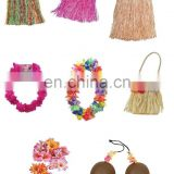 Hawaiian Grass Hula Style Skirt Fancy Dress Luau Summer Beach Party GT2130