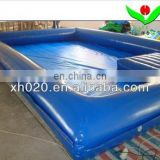 large inflatable deep swimming pool guangzhou with pool cover