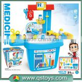 ABS material doctor set toy for kids with EN71