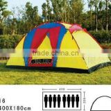 Outdoor clear roof tent