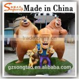 Alibaba China Life Size Concrete Cartoon Statue Molds for Sale